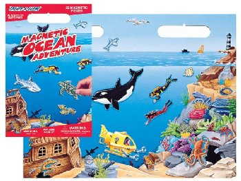 Ocean Adventure Magnetic Playset