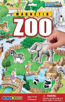 Zoo Magnetic Playset