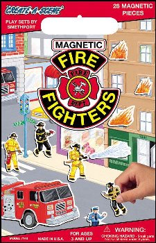 Fire Fighters Magnetic Playset