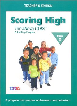 Scoring High CTBS/Terra Nova Book 2 Teacher