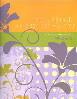 Ultimate Homeschool Planner with Orange Cover