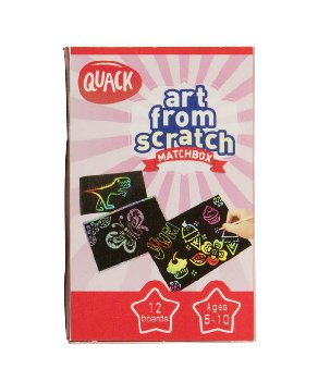 Art from Scratch Matchbox