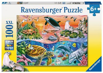 Beautiful Ocean Children's Puzzle(100 pieces)