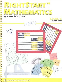 RightStart Mathematics Level C Worksheets (1st Edition)