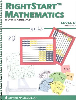 RightStart Mathematics Level D Worksheets (1st Edition)