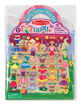 Fairy Puffy Sticker Play Set
