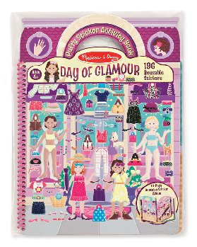 Puffy Stickers Deluxe Album - Day of Glamour
