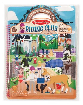 Puffy Stickers Deluxe Album - Riding Club