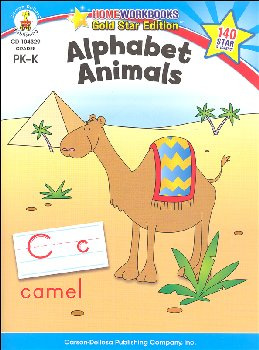 Alphabet Animals (Home Workbook)