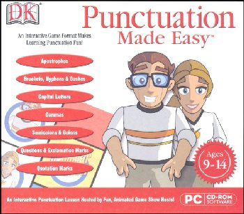 Punctuation Made Easy Software