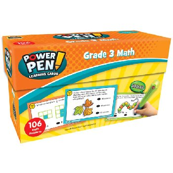Power Pen Learning Cards: Math Grade 3