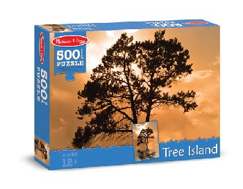 Tree Island Jigsaw Puzzle (500 pieces)