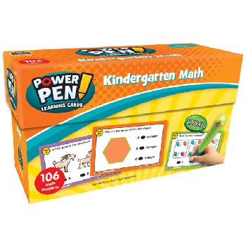 Power Pen Learning Cards: Math Grade K