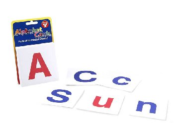 Alphabet Combo Pack Upper & Lower Case Cards