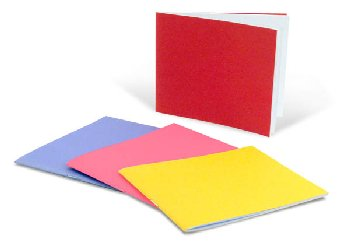 "Bright Blank Books Assorted Colors (4.25"" x 5.5"") Horizontal, Pack of 10"