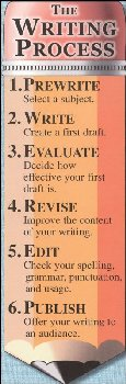Writing Process/Editor's Marks Bookmark