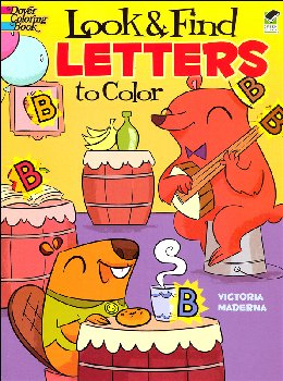 Look & Find Letters to Color