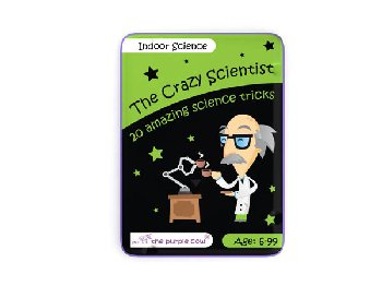 Indoor Science Activity Cards (The Crazy Scientist)