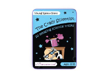 Young Researchers Activity Cards (The Crazy Scientist)