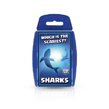 Top Trumps Card Game - Sharks