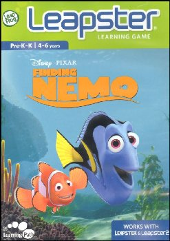 Finding Nemo Leapster 2 Learning Game