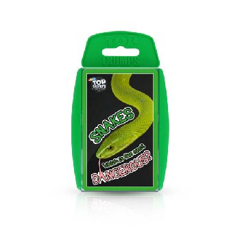 Top Trumps Card Game - Snakes