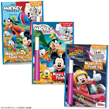 Disney Mickey Mouse & Friends Magic Pen Painting Book (Assorted Style)