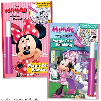 Disney Minnie Mouse & Friends Magic Pen Painting Book (Assorted Style)