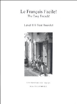 Easy French Level 2B Test Booklet