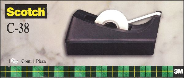 Scotch Single Roll Tape Dispenser - Black
