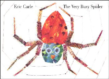 Very Busy Spider Board Book