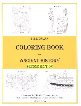 BP Ancient History Coloring Book