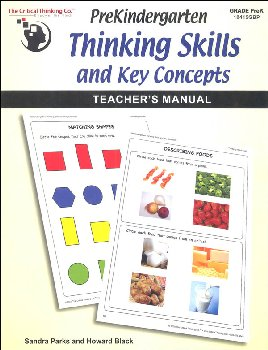 Pre-Kindergarten Thinking Skills & Key Concepts Teacher's Manual
