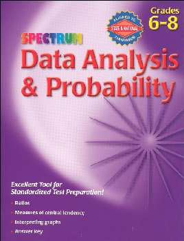 Spectrum Data Analysis & Probability Grades 6-8