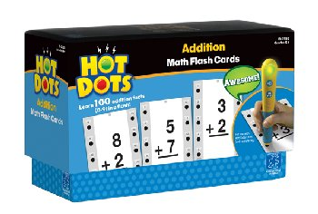 Addition Hot Dots Flashcards