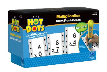 Multiplication Hot Dots Flashcards