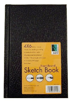 "Sketch Book Hard-Bound 4""x6"""
