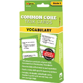 Common Core Vocabulary Task Cards Grade 3