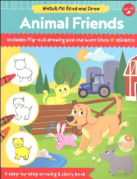 Animal Friends Activity Book (Watch Me Read and Draw)