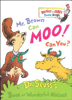 Mr. Brown Can Moo! Can You? Board Book