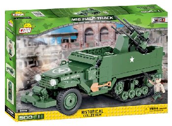 M16 Half-Track - 500 Pieces (Small Army World War II)