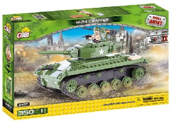 M24 Chaffee - 350 Pieces (Small Army World War II)
