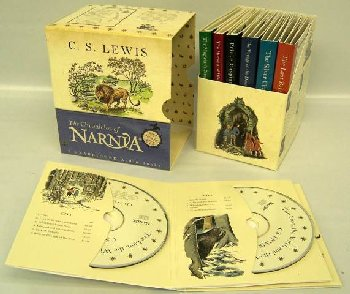 Chronicles of Narnia Unabridged CD Box Set