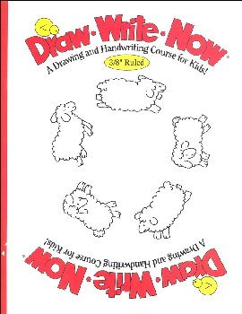 "Draw-Write-Now Workbook (3/8"" Ruled)"