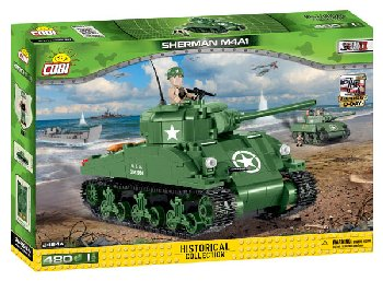 M4A1 Sherman - 480 Pieces (Small Army World War II)