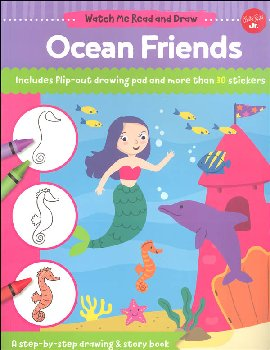 Ocean Friends Activity Book (Watch Me Read and Draw)