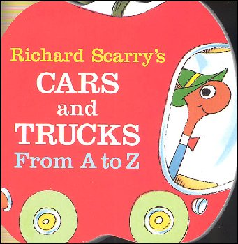 Richard Scarry's Cars and Trucks From A to Z Board Book