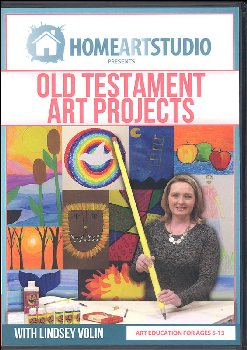 Home School Art Studio Program DVD - Old Testament Art Projects