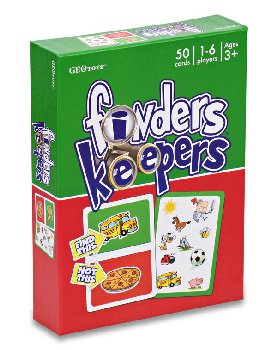 Finders Keepers Card Game