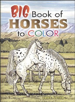 Big Book of Horses Coloring Book
